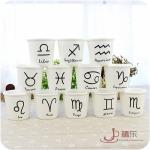 แก้วเซรามิคสัญลักษณ์12 ราศี ขายยกชุด