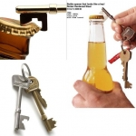 ที่เปิดฝาขวดรูปกุญแจ Key Bottle Opener < พร้อมส่ง >