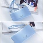 กระเป๋าสตางค์ใส่โทรศัพท์ FOREVER YOUNG LADY POUCH สีฟ้า