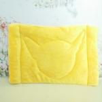 ผ้ารองกรงพกพาสี่เหลี่ยม #3 เหลือง