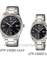 Casio MTP-1302D-1A1V+LTP-1302D-1A1V