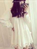 ชุดสีขาวน่ารัก