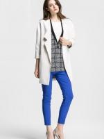VERO MODA LOOSE CASUAL JACKET/SUIT เสื้อผ้าผู้หญิง แฟชั่นเกาหลี เสื้อสูท เเจ็คเก็ต เสื้อคลุม สีขาว ไซส์ M, L พร้อมส่ง