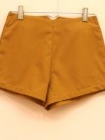 สินค้าขายดี!!! WOMEN COTTON CASUAL SHORTS กางเกงขาสั้นผู้หญิง ปลายขาหว้าเฉียง สีน้ำตาลทอง ผ้า Cotton ไซส์ S/M/L พร้อมส่ง (กางเกงเจนนี่) งานดี ตัดเย็บปราณีต