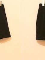 สินค้าขายดี... รุ่นใหม่!!! WOMEN CASUAL SHORT PANTS กางเกงขาสั้น กางเกงกระโปรง กระโปรงหน้า-หลัง ผ่าหน้า ผ้าสเปนเด็กซ์ สีดำ ไซส์ M พร้อมส่ง