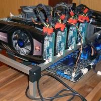 อุปกรณ์ bitcoin mining, Riser