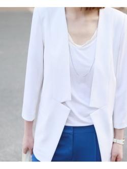 KOREAN HI-END COTTON VEST เสื้อเเขนกุด สีขาว ผ้ายืดเกาหลี กุ๊นขอบผ้าชีฟอง พร้อมส่ง