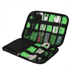 กระเป๋าใส่อุปกรณ์อิเล็กทรอนิกส์ สำหรับใส่อุปกรณ์ไอทีทุกชนิด มีช่องใส่ฮาร์ดดิสก์เฉพาะ Travel Organizer for Electronics Accessories