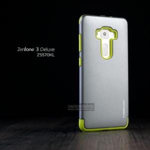 เคส Zenfone 3 Deluxe (ZS570KL) เคส Defender Hybrid 2 ส่วน (CASEOLOGY) สีเงิน