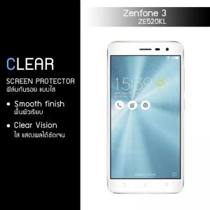 """ฟิล์มกันรอย Zenfone 3 5.2"""" นิ้ว (ZE520KL) แบบใส"""