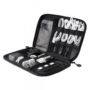 กระเป๋าใส่อุปกรณ์อิเล็กทรอนิกส์ สำหรับใส่อุปกรณ์ไอทีทุกชนิด มีช่องใส่ SIM, SD CARD ฮาร์ดดิสก์เฉพาะ (Travel Organizer for Electronics Accessories)