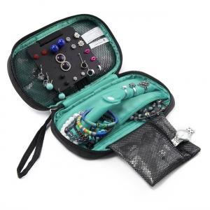 กระเป๋าใส่เครื่องประดับ จัดเก็บสร้อยข้อมือ ต่างหู แหวน สร้อยคอ กำไล นาฬิกา คุณภาพสูง มี 2 สีให้เลือก