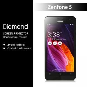 ฟิล์มกันรอย Asus Zenfone 5 แบบใส (มีกากเพชร)