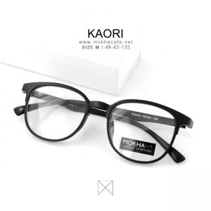 KAORI - matte แว่นตาทรงเหลี่ยม TR90 กว้าง 135 มม. (size M)