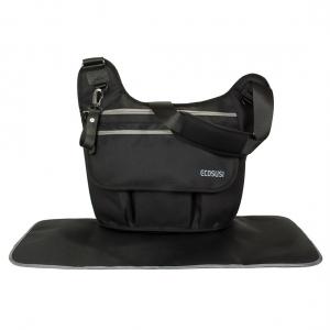 Ecosusi กระเป๋าคุณแม่ ทรงกระเป๋าแมสเซนเจอร์ ใช้เท่ห์ เดินทางสะดวก แขวนรถเข็นได้ คุณภาพสูง