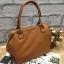 กระเป่า Anello PU Leather boston bag Camel Color ราคา 1,490 บาท Free Ems thumbnail 3