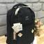 กระเป๋า Anello rucksack nylon day pack back 2017 สีกรม ราคา 1,290 บาท Free Ems thumbnail 4