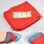 ชุดจัดกระเป๋าเดินทาง 5 ใบ จัดกระเป๋าเดินทาง ประหยัดเนื้อที่ มีสไตล์ กันน้ำ เลือก 4 สี สีชมพู, ฟ้า, เทา, แดง thumbnail 42