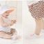 SK017••ถุงเท้าเด็ก•• ลูกแพร์ (สีชมพู-ข้อสั้น) thumbnail 3