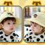 HT485••หมวกเด็ก•• / หมวกปีกกว้าง-DH (สีเหลือง) thumbnail 4