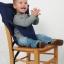 เก้าอี้ทานข้าวพกพาสำหรับเด็ก Sack'n Seat / MOTHERHUG thumbnail 6