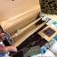กระเป๋าสตางค์ CHARLES&KEITH Turn-Luck Wallet กระเป๋าสตางค์ใบยาวดีไซน์สวยเปิดปิดด้วยตัวลอคอะไหล่ทองปั้มโลโก้ CK thumbnail 18