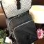 กระเป๋า KIPLING NYLON LARGE BACKPACK Nylon+Polyester 100% ใบใหญ่ สีดำลายจุด thumbnail 3