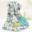 BK049••ผ้าห่มเด็ก•• / ตุ๊กตาหิมะ-เทา (ลายปัก) thumbnail 5