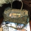 กระเป๋า Guess Gold LeoPard Leather Bowling Bag thumbnail 2