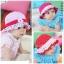 หมวกเด็กหญิง วัย 6-24 เดือน มีระบาย แต่งดอกไม้ปัก thumbnail 1