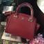 LYN Madison Bag สีแดง กระเป๋าถือหรือสะพายทรงสวย รุ่นใหม่ล่าสุด วัสดุหนัง Saffiano thumbnail 3