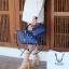 กระเป๋า KEEP Mini Longchamp Duo Sister Smoke Grey ราคา 1,390 บาท Free Ems thumbnail 9