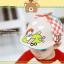 HT521••หมวกเด็ก•• / หมวกเบเร่ต์-ลิงขับเครื่องบิน [สีเบจ] thumbnail 3