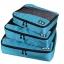 ชุดจัดกระเป๋าเดินทางคุณภาพดีมาก 3 ใบต่อชุด ใส่เสื้อ, กางเกง, กระโปรง, ผ้าขนหนู (Ecosusi 3 Set Packing Cubes - Travel Organizers) thumbnail 34