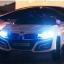 รถแบตเตอรี่เด็ก BMW I8 สีขาว 2 มอเตอร์เปิดประตูได้ มีรีโมท หรือบังคับเองได้ thumbnail 9