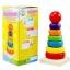 ของเล่นไม้ เรียงห่วงสวมหลัก Rainbow Tower ขนาดสูง 15.5 ซม. thumbnail 7