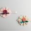 HB076••ที่คาดผมเด็ก•• ดอกไม้ (สีเบจ) thumbnail 5