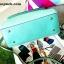 กระเป๋าถือ Mango Tote Bag with turn lock 2015 สีฟ้าน้ำทะเล สดใส thumbnail 4