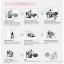 สติกเกอร์ Baby in Car งานเกาหลี รูปเด็กทักทาย hi สีขาว thumbnail 6