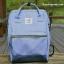 กระเป๋าเป้ ANELLO X PAGEBOY- LOCAL BRAND วัสดุ Polyester canvas สลับหนังกลับ ปากกระเป๋าเปิดปิดด้วยซิปคู่ thumbnail 1