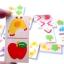 ชุดโดมิโนไม้ จับคู่ภาพเหมือน ของเล่นไม้เสริมพัฒนาการเด็ก thumbnail 3