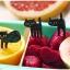 ไม้จิ้มขนมและผลไม้ลายแมวดำ thumbnail 2
