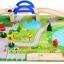 บล็อกไม้สร้างถนนและสวนหย่อม Rail Overpass Set 40 ชิ้น thumbnail 4