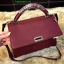 กระเป๋า CHARLES & KEITH PUSHLOCK HANDBAG Burgundy thumbnail 3