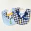 ผ้าซับน้ำลายปลายโค้ง ผ้ากันเปื้อนเด็ก แบบหน้าคอตตอน-หลังขนหนู / ลายเนคไท, หูกระต่าย (มี 5 ลาย) thumbnail 9