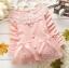 เสื้อกันหนาวเด็กเล็ก สีชมพู คอถักลายดอกไม้น่ารัก สำหรับเด็กวัย 1-3 ปี thumbnail 1