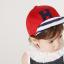 หมวกแก๊ป หมวกเด็กแบบมีปีกด้านหน้า ลายตัวอักษร H (มี 2 สี) thumbnail 10