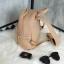กระเป๋า KEEP Leather Chic Backpack Nude Pink ราคา 1,890 บาท Free Ems #ใบนี้หนังแท้100% thumbnail 6