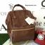 กระเป๋าเป้ Anello polyurethane D.Brown Mini thumbnail 1