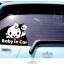 สติกเกอร์ Baby in Car งานเกาหลี รูปเด็กทักทาย hi สีขาว thumbnail 3